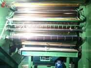 Transparent PVC Film 4 Roll Calender Machine With Double Throttle Line Thikness 0.06 - 0.8mm