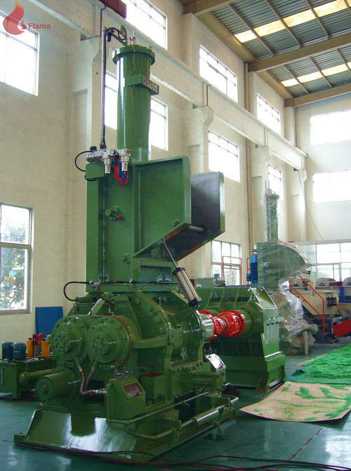 Oil heating High Precision Bearing Banbury Internal Mixer For Plastic / rubber mixer banbury