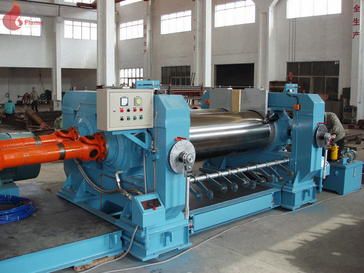 185kw Energy Saving Two Roll Mill Machine For Rubber