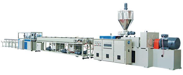 Pvc Double Electrical Threading Pipe Extrusion Line 16 63mm