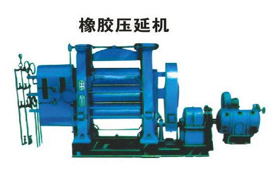 High Output Pvc Sheet Making Calendering Equipment Smooth Running