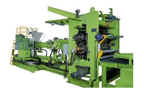 Low Noise 4 Roll Calender Machine For Pvc Semi Soft Transparent Film