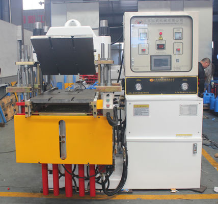 Custom Rubber Injection Moulding Machine White Vulcanising Machine Stroke 250mm