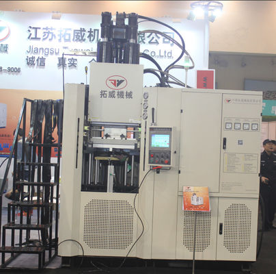 Dumbbell Rubber Injection Moulding Machine Can Be Customized Worktable