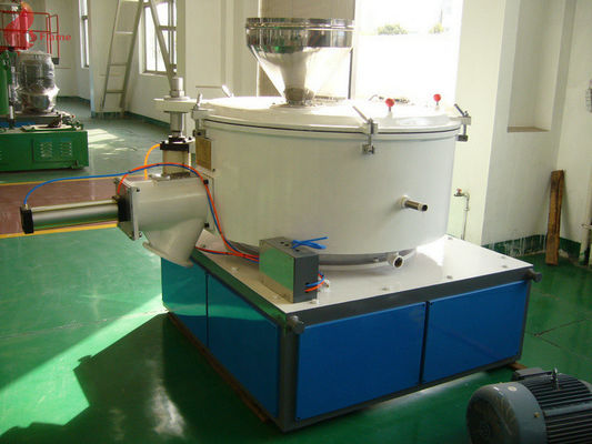 Multichannel cooling SHL Penumatic Cold Mixing Machine High Speed Mixer For PVC , PP , PE