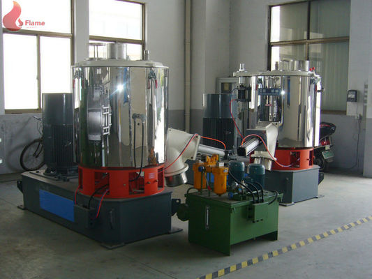 PVC 110Kw High Speed Mixer Machines With ZWZ Bearing , SHR Series
