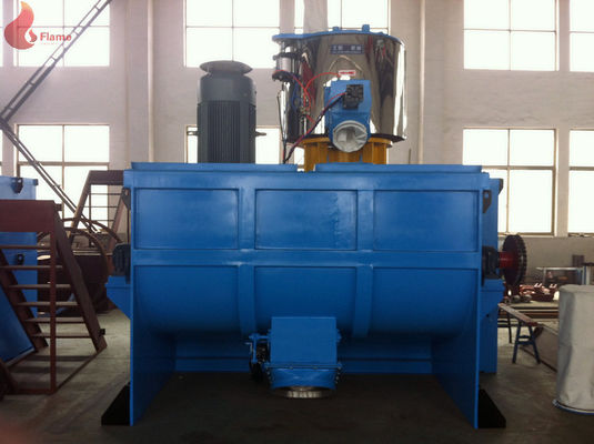 ISO Water Cooling High Speed Horizontal Mixers Pneumatic 22 KW