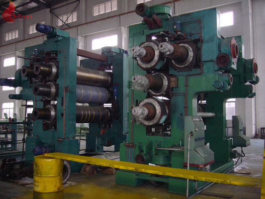 Γ Type PLC Control Rubber Calender Machine Four Rollers Ø300 × 900mm
