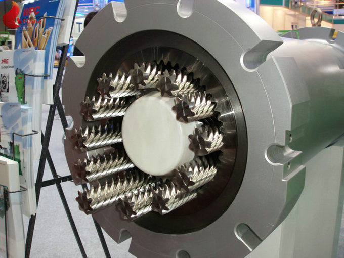 Pre Antistatic Planetary Roller Extruder For Pvc Material