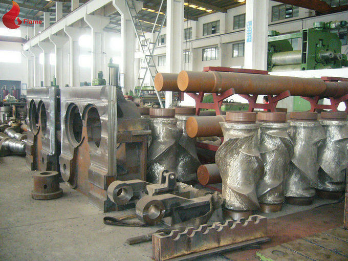 Four-Wing 7500kg / h Alloy steel casting Banbury Internal Mixer Hermetic Type FM-410